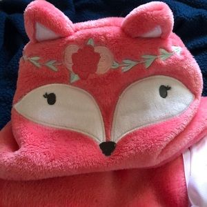 Other - Pink Hooded Baby Blanket